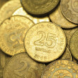 25 Centavo Philippine Coins — Stock Photo