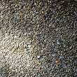Stock Photo: Pebble Washout Finish Whitewash Wall Background