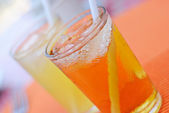 Refreshing Cold Juice Drinks — Stock Photo