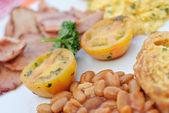 Breakfast Dish — Stock Photo