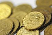 25 Centavo Philippine Coins — Stock Photo