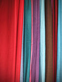 Colorful Cloth Scarves — Stock Photo