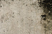 Plain Grunge Concrete Wall Background with Darkened Edges — Stock Photo