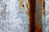 Rusty Tin Metal Surface Wall Background — Stock Photo