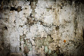 Dirty Peeling Paint on a Concrete Surface Wall Background — Stock Photo