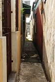 Narrow Urban Alley — Stock Photo