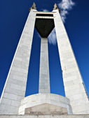 Manila Landmark President Manuel Quezon Memorial — Stock Photo