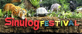 Cebu Sinulog Festival Float Philippines — Stock Photo