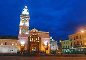 Old church in Quito, Ecuador — Stock Photo