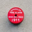 Fire alarm device    — Stockfoto