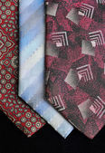 Ties in various tones — Stock Photo