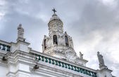 Steeple of Quito's Cathedral — Stock Photo