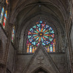 Interior of the Basilica of Quito — Stock Photo #45044383