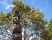 Old tribal totem — Stock Photo