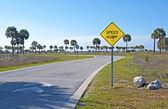 Speed Hump sign — Zdjęcie stockowe