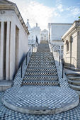 Staircase at a cemetery — Foto Stock