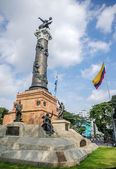 Independence monument in Guayaquil, Ecuador — Stock Photo