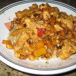 Kung Pao Chicken Cooked American-Style — Stock Photo