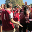 Indiana Hoosiers Tailgate Party -- Good for use with Indiana Football, Indiana Basketball, Indiana University NCAA Sports — Stock Photo