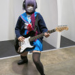 Rock Star Cosplay Girl — Stock Photo