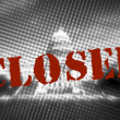 Government Shutdown Illustrative Photo with Alternative Text - On October 1 the United States Government Shutdown — Stock Photo