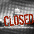 Government Shutdown - The Capitol Closed: American government shutdown on October 1. This photo illustrates the government shutdown concept. — Stock Photo