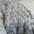 Terra Cotta Warriors in Xi'an, China — Stock Photo