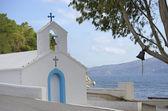 Igreja mediterrânica — Fotografia Stock