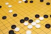 期间的围棋游戏 — 图库照片