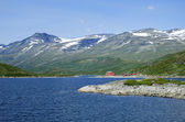 Lodge in Jotunheimen — 图库照片