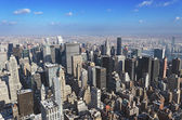 Manhattan from above — Stock Photo