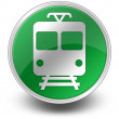 "Stock Photo: Icon Button Pictogram ""Train, Mass Transit"""