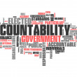 "Word Cloud ""Accountability"" — Stock Photo #37576337"