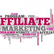"Stock Photo: Word Cloud ""Affiliate Marketing"""
