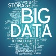 "Word Cloud ""Big Data"" — Stock Photo #37576983"