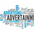 "Word Cloud ""Advertainment"" — Stock Photo #37579465"