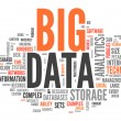 Word Cloud Big Data — Stock Photo #37792709