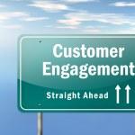 Highway Signpost Customer Engagement — Stock Photo