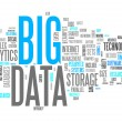 Word Cloud Big Data — Stock Photo #38603849