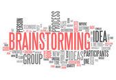 Word Cloud Brainstorming — Stock Photo
