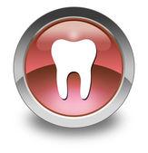 Icon, Button, Pictogram -Dentist, Dentistry- — Stock Photo