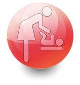 Icon, Button, Pictogram Baby Change — Photo