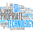 Stock Photo: Word Cloud Appropriate Technology