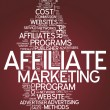 Word Cloud Affiliate Marketing — Stock Photo #38783167