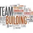 Word Cloud Team Building — Stock Photo #38821343
