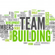 Word Cloud Team Building — Stock Photo #38823429