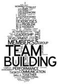 Word Cloud Team Building — Photo
