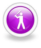 Icon, Button, Pictogram Baseball — Stock Photo