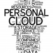Word Cloud Personal Cloud — Stock Photo #40297515