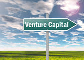 Signpost Venture Capital — Stock Photo